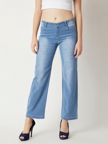 MM Cropped Straight-Leg Jeans